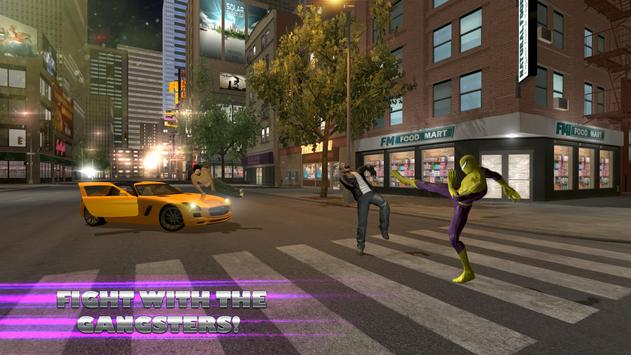 Flying Spider Hero City Battle screenshot 5