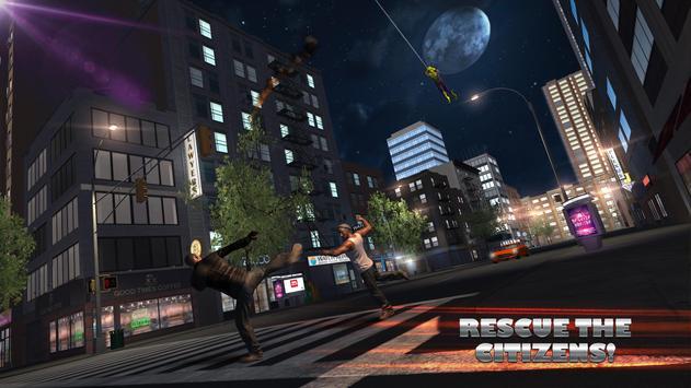 Flying Spider Hero City Battle screenshot 6