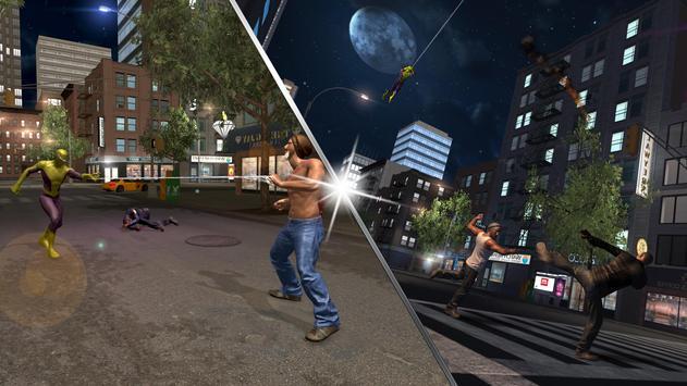 Flying Spider Hero City Battle screenshot 14
