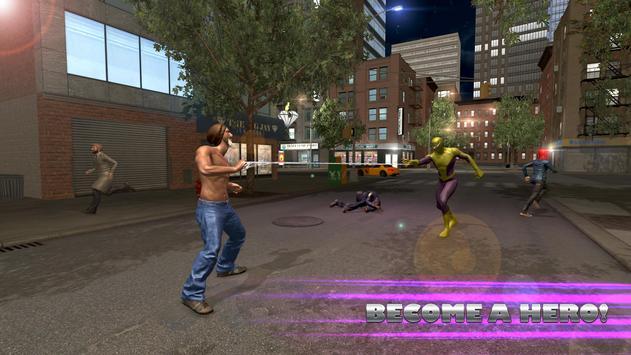 Flying Spider Hero City Battle screenshot 2