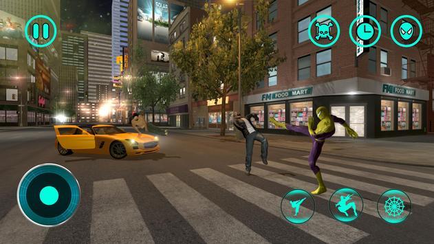 Flying Spider Hero City Battle screenshot 3
