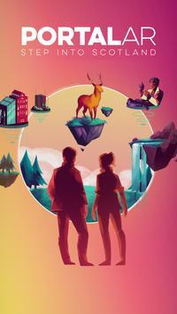 Portal AR - Step Into Scotland poster