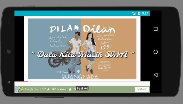 Soundtrack Dilan dan Milea screenshot 3
