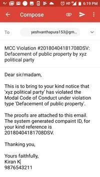 (By BBMP) MCC Karnataka GE 2018 screenshot 14