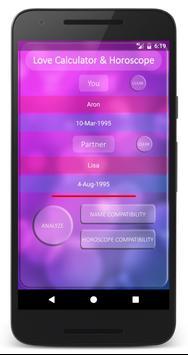 Real Love Calculator Horoscope apk screenshot