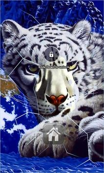 White Tiger Lock Screen screenshot 2