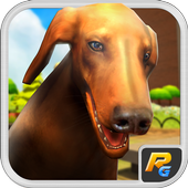 Pet Dog Simulator 3D Puppy icon