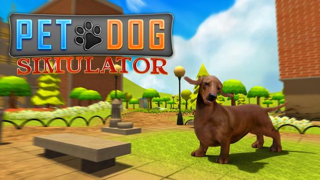 Pet Dog Simulator 3D Puppy poster