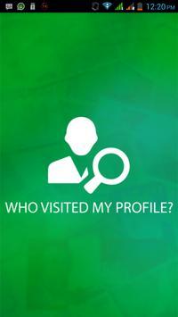 Que visitaron perfil Whatsapp? poster