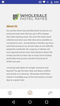 Wholesale Hotel Rates screenshot 1