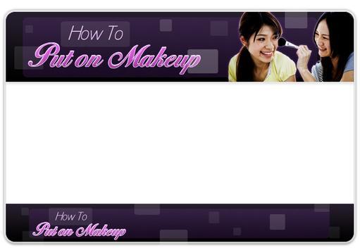 How to put on makeup screenshot 1