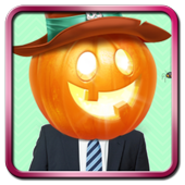 Halloween Photo Stickers icon