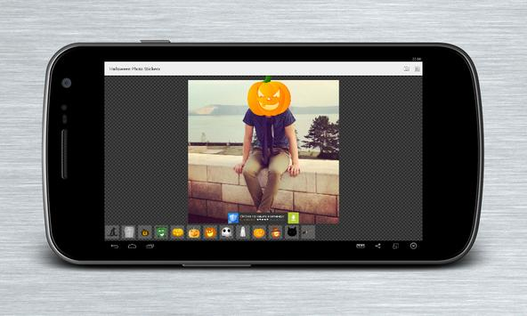 Halloween Photo Stickers apk screenshot
