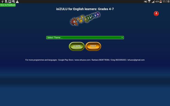 Whuzoo isiZulu screenshot 2