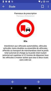 Signalisation routière France screenshot 1