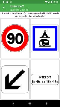 Signalisation routière France screenshot 3