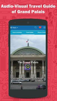 The Grand Palais Paris Tours poster