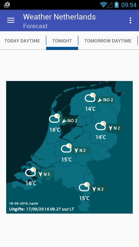 Wetter Niederlande Für Android Apk Herunterladen