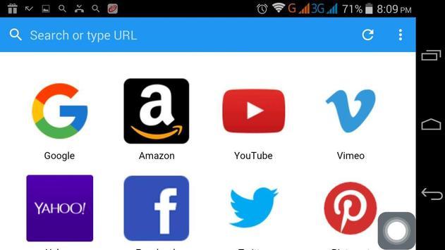 aBrowser apk screenshot