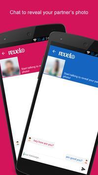 Revelo - Mystery chatting! apk screenshot