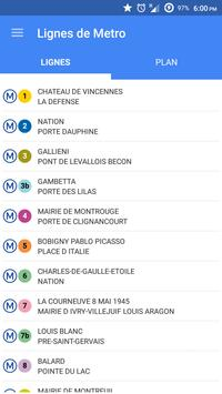 Live Traffic for Paris Subway poster
