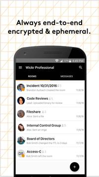 Wickr Pro apk screenshot