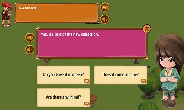 English Conversation Game screenshot 1