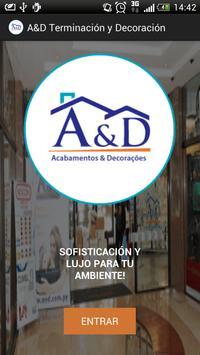 A&D Acabamentos poster