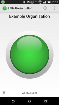 Little Green Button poster