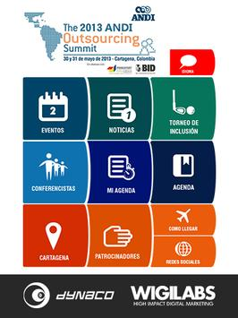 Andi Outsourcing Summit poster