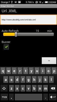 Widget web Alert screenshot 3