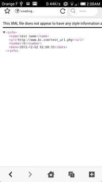 Widget web Alert screenshot 2