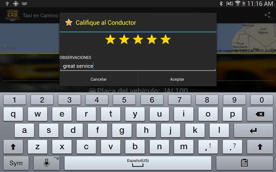 Yellow Cab Passenger screenshot 15