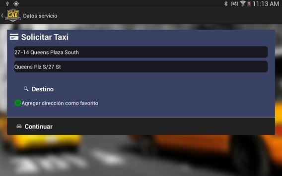 Yellow Cab Passenger screenshot 8