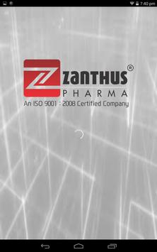 Zanthus Pharma - Visual Aid poster