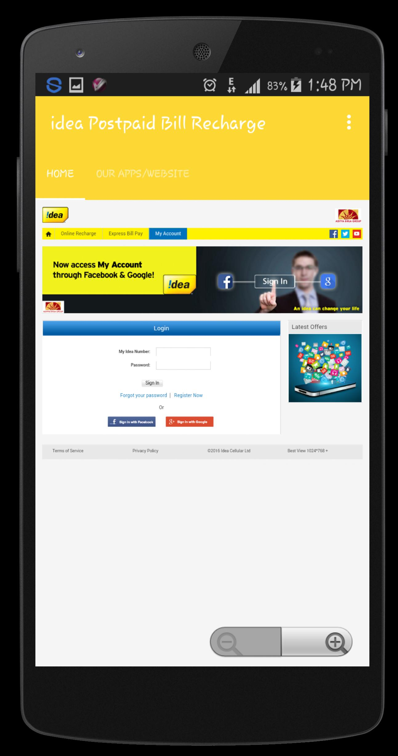 idea Postpaid Bill Recharge for Android - APK Download