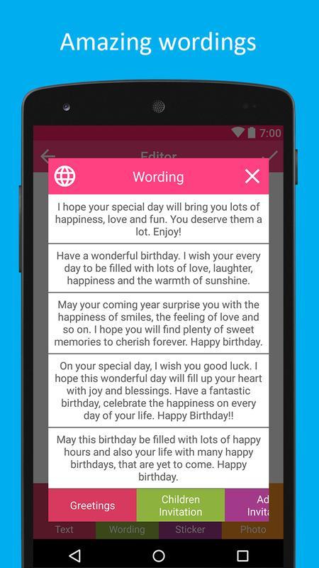 Birthday Card Maker Screenshot 4