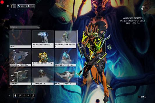 Guide for Warframe poster