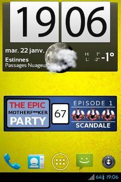 Décompteur - EMFP : SCANDALE apk screenshot