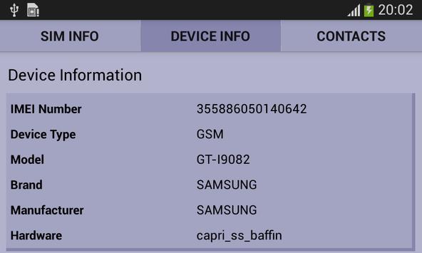SIM Details and Mobile Tracker screenshot 1