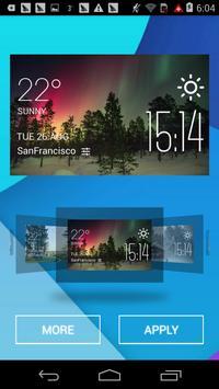 The aurora weather apk screenshot