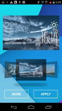 Tijuana weather widget/clock apk screenshot