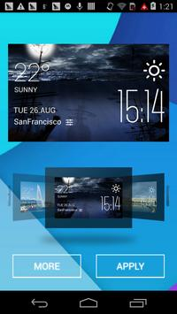 Battleship weather widget poster