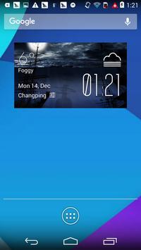 Battleship weather widget apk screenshot