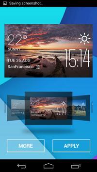 Coolangatta weather widget apk screenshot