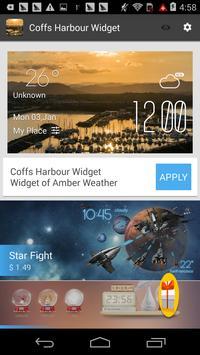 Coffs Harbour1 weather widget apk screenshot