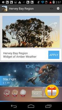 Hervey Bay region weather apk screenshot