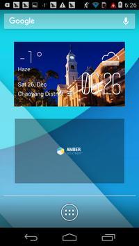 Maryborough weather widget poster