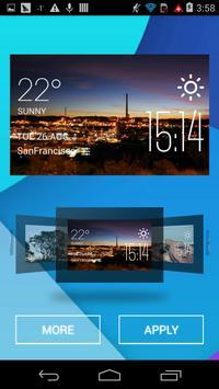 Mount Isa weather widget/clock apk screenshot