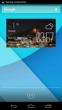 Townsville weather widget poster